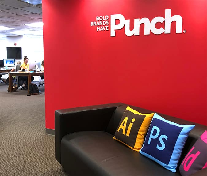Punch- Office Entrance