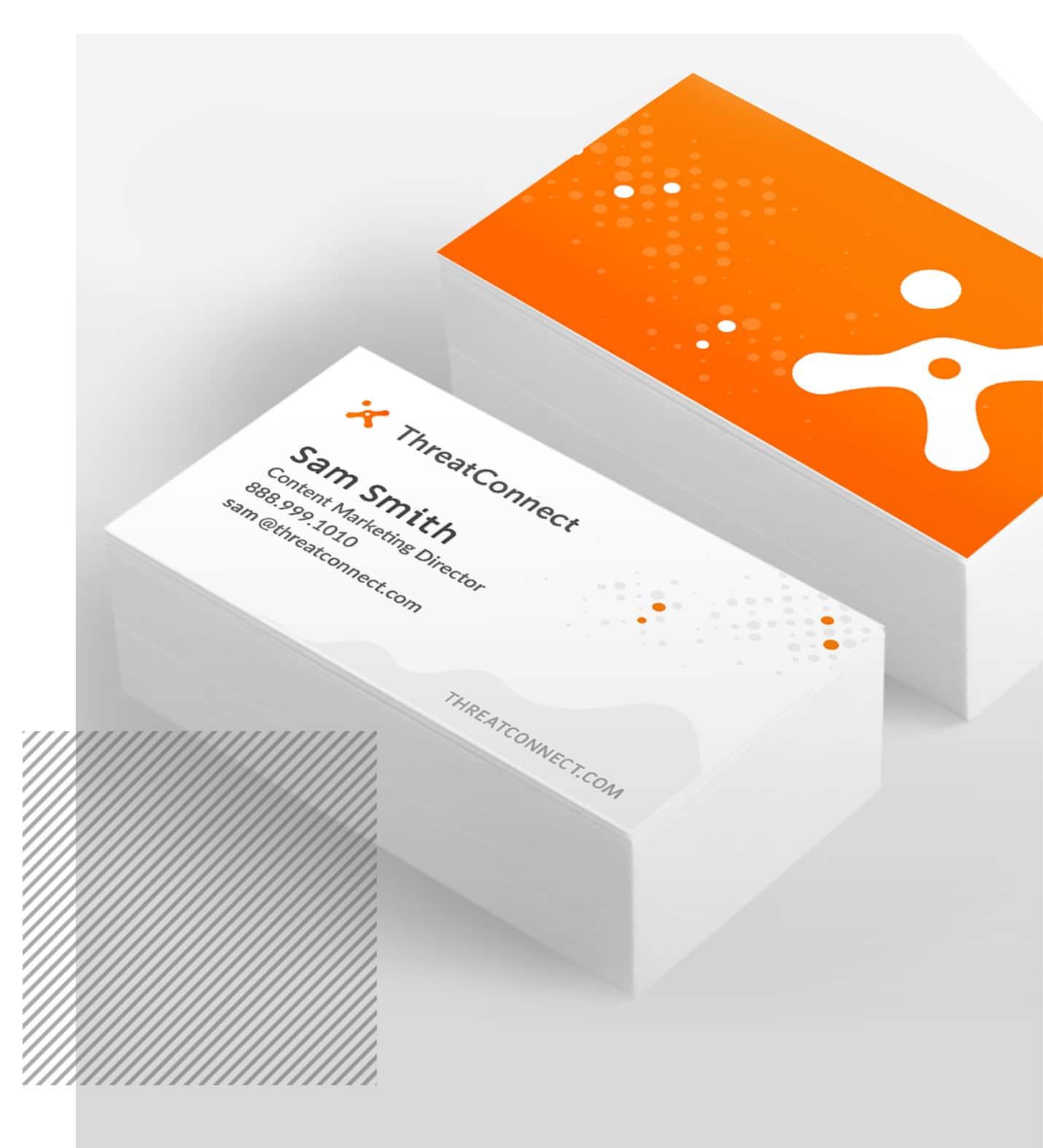 Punch - ThreatConnect Website Sidebar Business Cards
